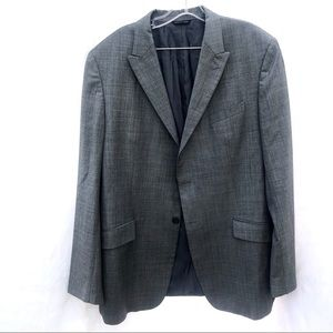 Banana Republic Men Gray 2 bottom Blazer